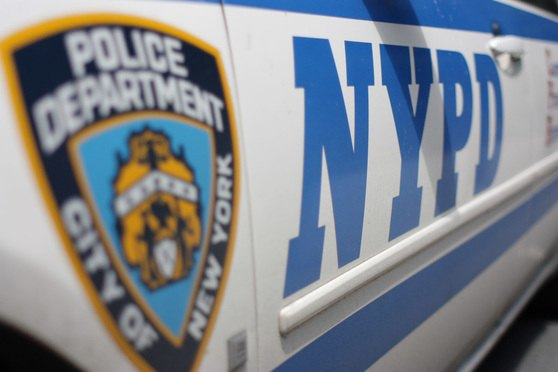 New York Police car NYPD logo