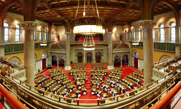 New York State Assembly Chamber. Photo via Flickr.