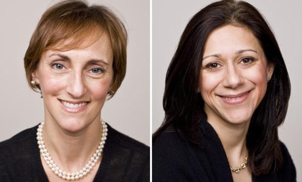 Abby Tolchinsky and Ellie Wertheim