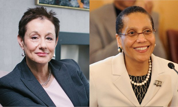 Barbara Finkelstein and Judge Sheila Abdus-Salaam.