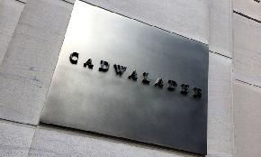 Cadwalader Halts Partner Pay Cuts Associate and Staff Compensation