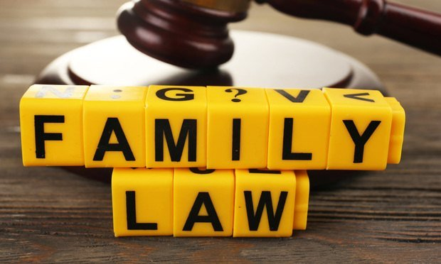 Family law, divorce, family, gavel