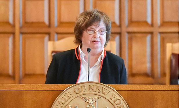 Acting New York State Attorney General Barbara Underwood. Photo: David Handschuh/NYLJ.