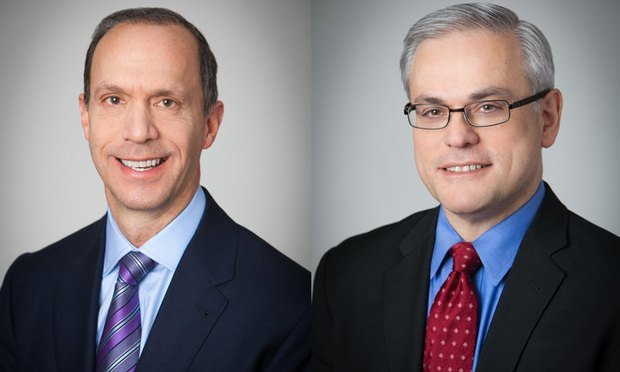 Jeffrey S. Klein, left, and Nicholas J. Pappas, right, of Weil, Gotshal & Manges.