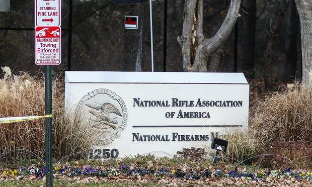 National Rifle Association headquarters in Fairfax, Virginia.