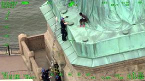 Statue of Liberty Protester Receives Probation Community Service