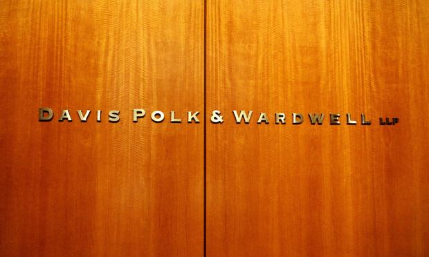 Davis Polk sign