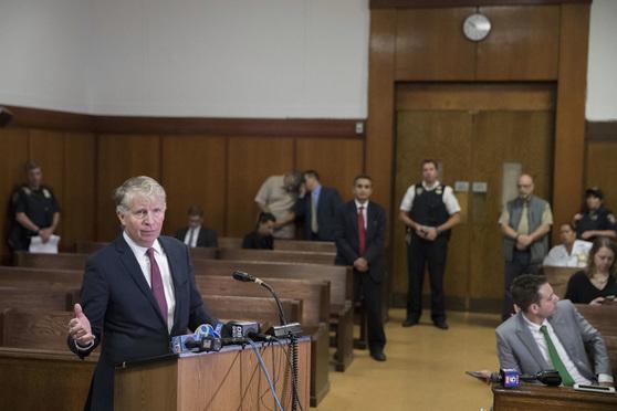 Manhattan District Attorney Cyrus Vance.