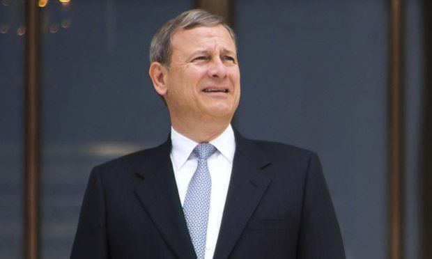 U.S. Supreme Court Chief Justice John Roberts Jr./Photo: Diego M. Radzinschi/ALM