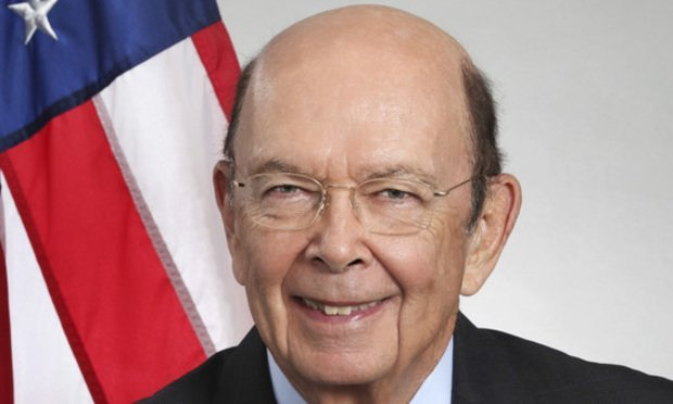 Wilbur Louis Ross Jr., U.S. secretary of commerce/courtesy photo