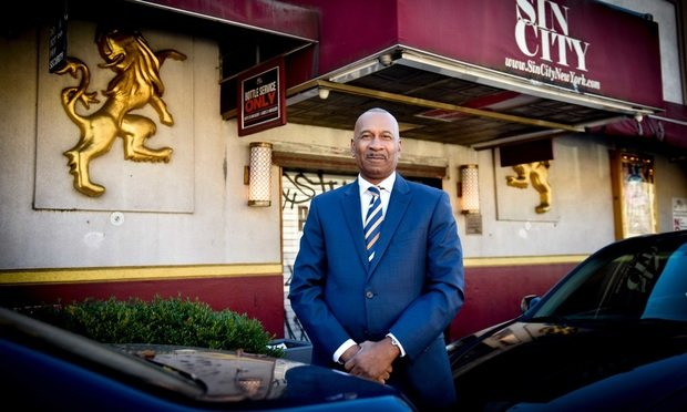 Eric Sanders, a retired New York City Police Officer, is a civil rights attorney who is suing New York City and the NYPD in state Supreme Court alleging the city unlawfully targeted and closed Sin City, a Bronx strip club. (Photo by David Handschuh/NYLJ)