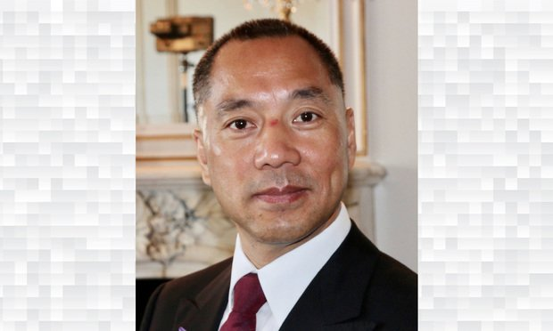 Guo Wengui in April 2017