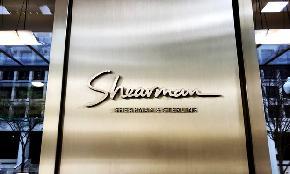 Shearman & Sterling Reports Increase in Revenue Profits