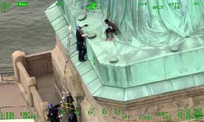 It's the Climb: Judge in Protester Case Wants a Field Trip to Lady Liberty and a Ladder