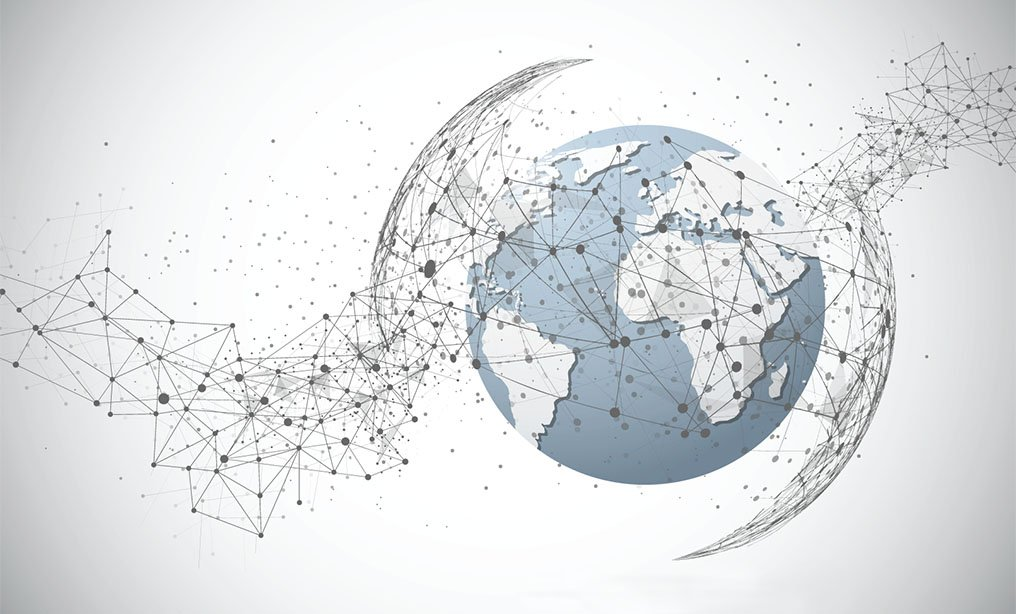 global network connection cross-border