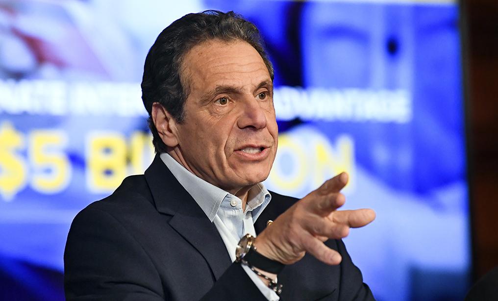 New York Gov. Andrew Cuomo. (AP Photo/Hans Pennink)