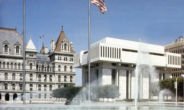 Third Department courthouse. (Courtesy photo: New York Courts)