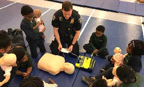 Career Day Demonstration at the Court Officers Academy