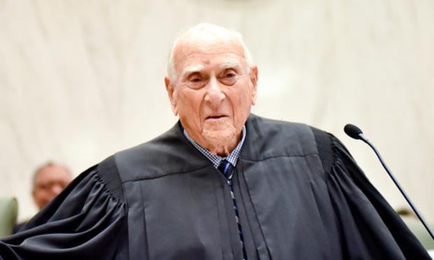Senior Judge Jack Weinstein, U.S. District Court for the Eastern District of New York.