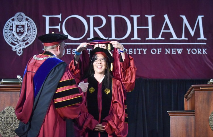 Fordham Graduation 2020.Judge Chen Receives Honorary Degree From Fordham New York