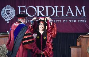 Judge Chen Receives Honorary Degree From Fordham
