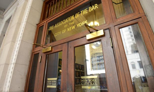 New York City Bar Association building