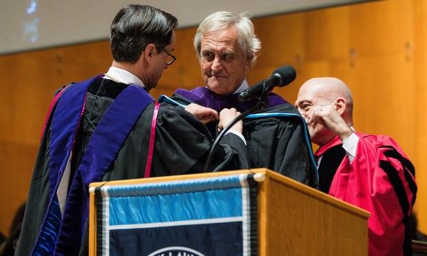 Nicholas Haysom, Anthony Crowell and William LaPiana