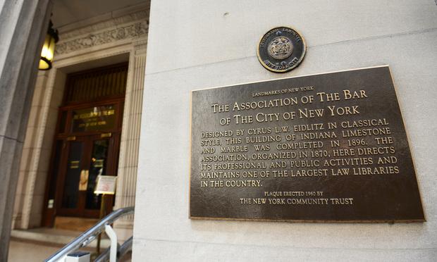 5 Legal Professionals to Receive City Bar Association's Legal