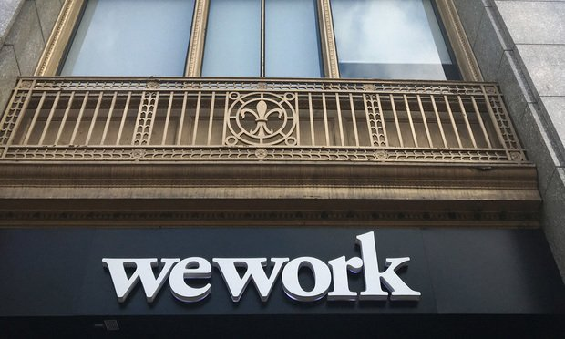 The WeWork offices at 117 NE First Ave. in downtown Miami provide shared workspaces in part for technology startups as well as services for entrepreneurs. .