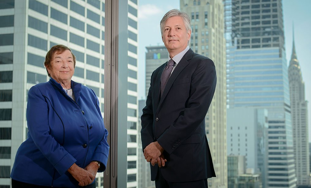 Sheila Birnbaum and Mark Cheffo, co-chairs of the products liability and mass torts practice (Photo by David Handschuh/NYLJ)