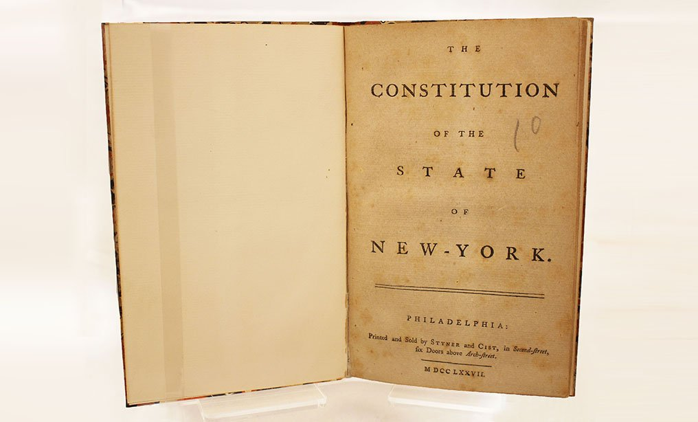 The Constitution of the State New York, 1777.