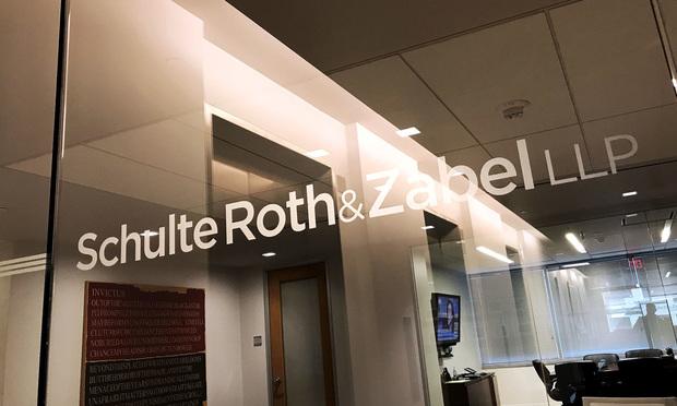 Schulte Roth & Zabel offices. Photo: Diego Radzinschi/ALM