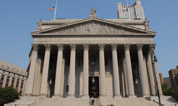 Manhattan Supreme Court at 60 Centre Street