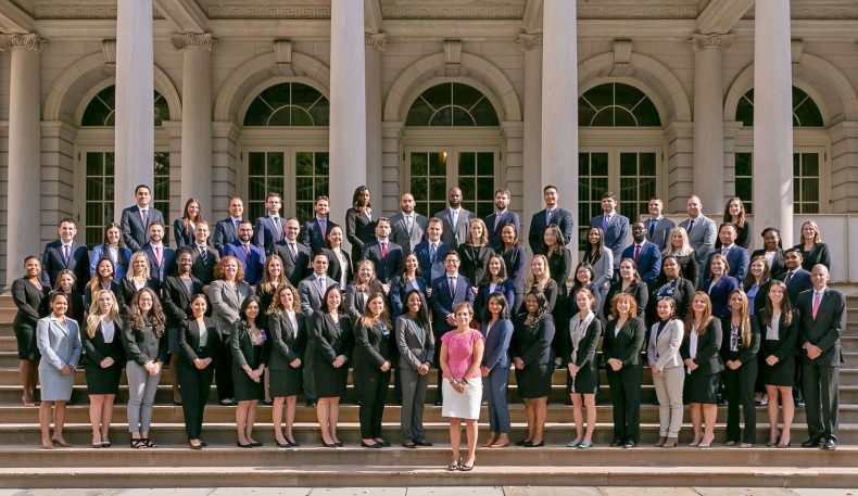 The new City Law Department attorneys.
