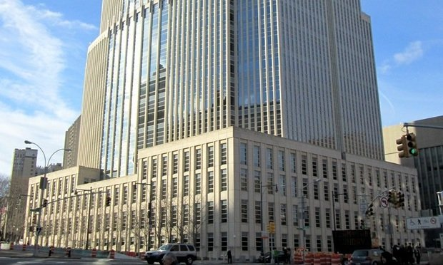 U.S. District Court for the Eastern District of New York at the Theodore Roosevelt Federal Courthouse on 225 Cadman Plaza East in the civic center of Brooklyn.