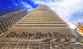 New York Times Ordered to Produce Emails With Outside Counsel in Suit by 'Full Time Freelancer'