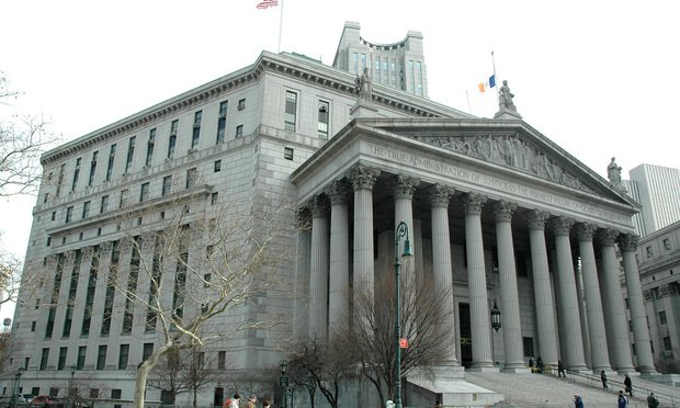 Manhattan Supreme Court at 60 Centre Street.