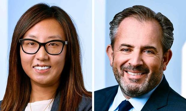 Andrea Hwang and Leonard Klingbaum