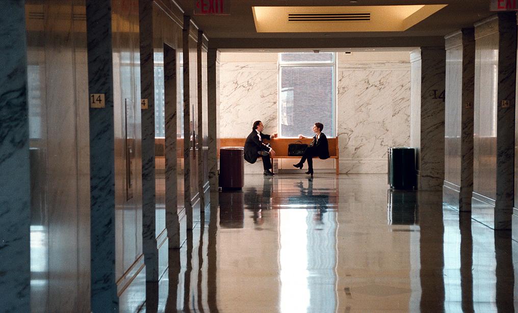 Photo: Rick Kopstein. U.S. District Court; 500 Pearl Street; 14th Floor
