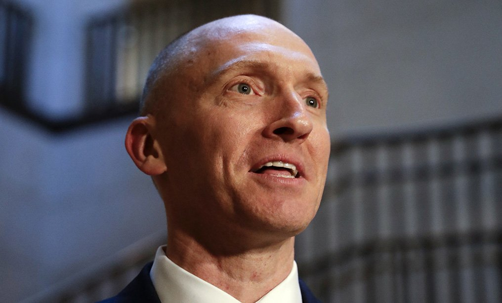 Carter Page, a foreign policy adviser to Donald Trump's 2016 presidential campaign. Photo/J. Scott Applewhite/AP