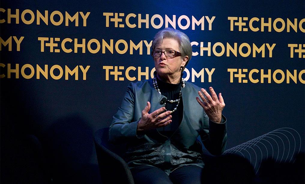 Kathryn Wylde, president of the Partnership for New York City. Photo: Wes Bruer/Bloomberg