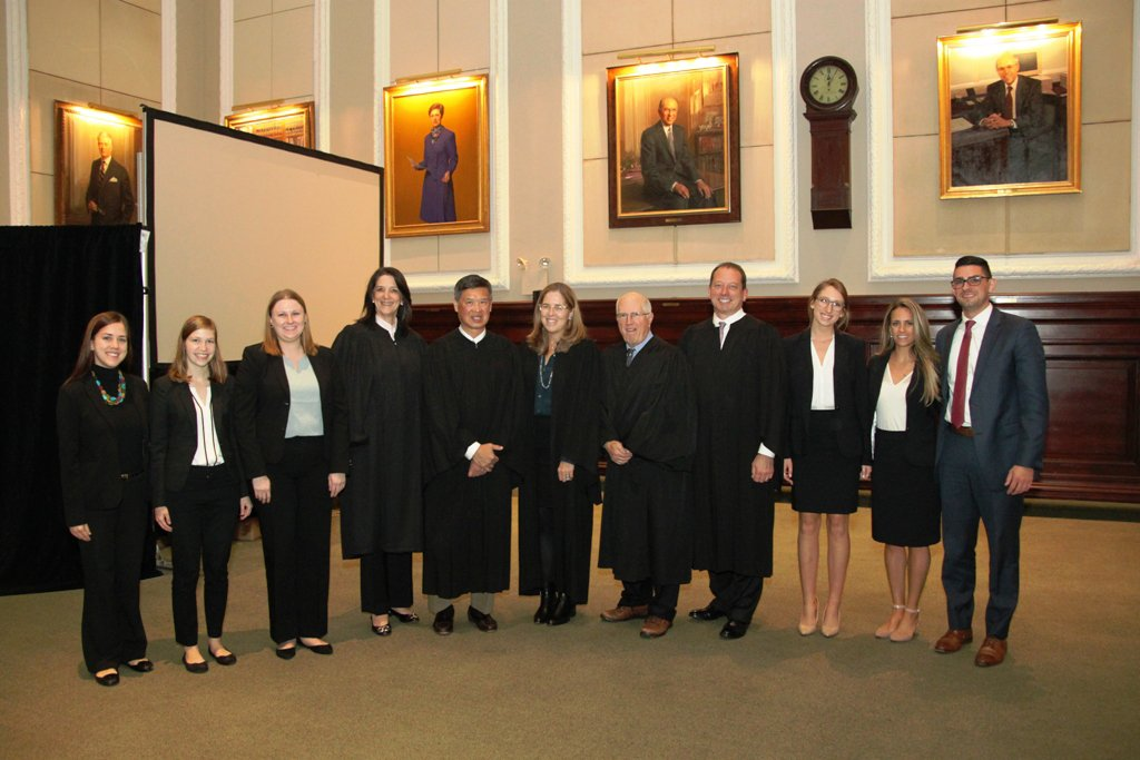 Seton Hall Wins Regional Moot Court Competition