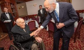 At 107 Paul Weiss Partner Mordie Rochlin Says Hard Work Makes for a Long Life