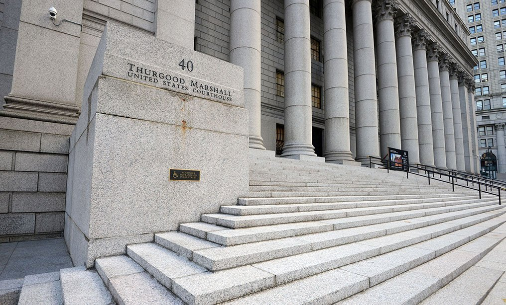 The Second Circuit Court of Appeals at the Thurgood Marshall U.S. Courthouse in lower Manhattan. Photo: Rick Kopstein
