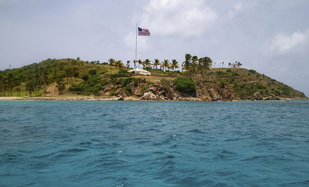 Little St. James Island, in the U.S. Virgin Islands