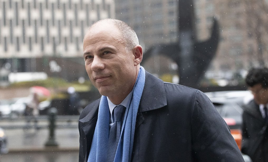 Attorney Michael Avenatti arrives at federal court in New York in 2019. Photo: Mark Lennihan/AP