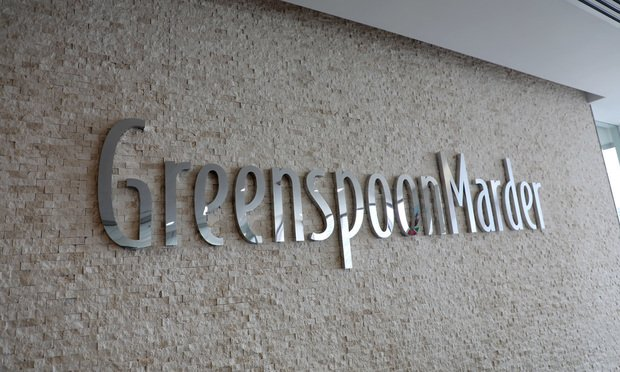 Greenspoon Marder's offices in Ft. Lauderdale, Florida.