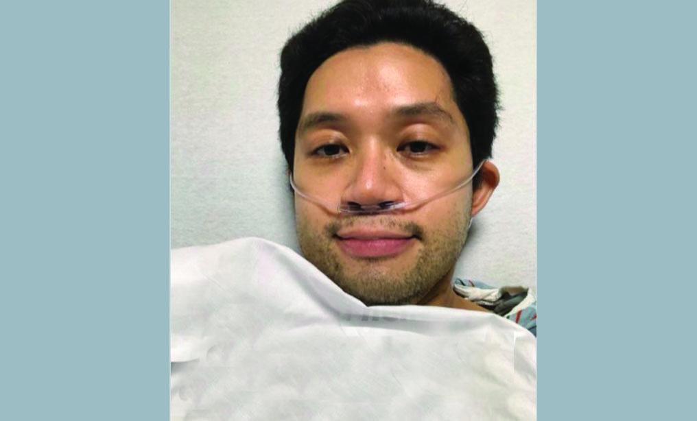 David Lat at NYU Langone Hospital