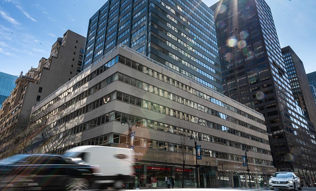 Outside Goldberg Segalla's New York office. Photo: Ryland West/ALM