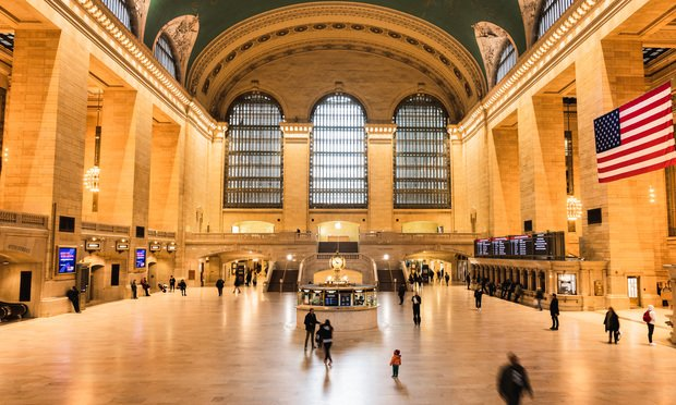 Grand Central Station on Tuesday, March 17. Photo: Ryland West/ALM